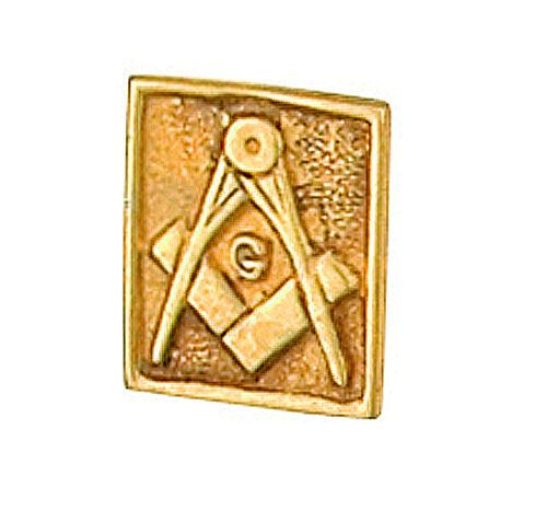 Masonic Tie Tack Tie Pin Yellow Gold MadeTo Order in Jewellery Quarter B''ham